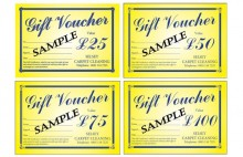 sample of our gift vouchers