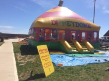 Bouncy Castle - when the weather permits!
