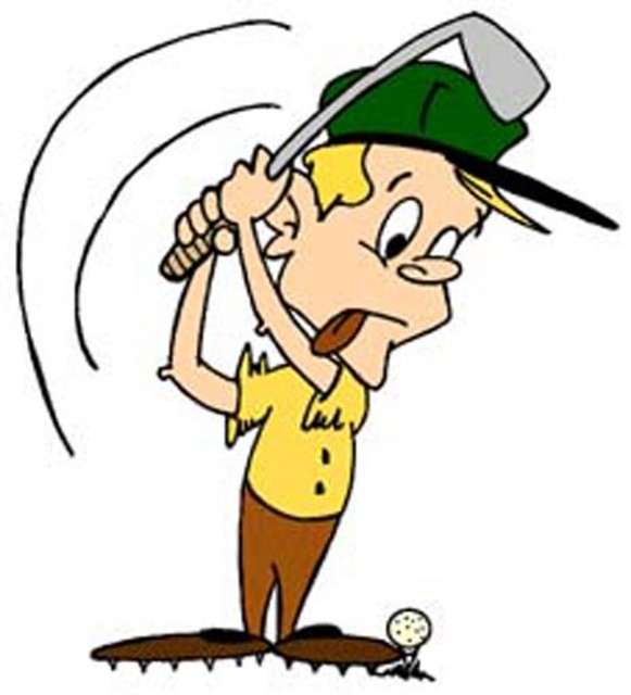 Esaphbursio: Golf Swing Cartoon