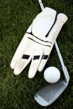 glove and club